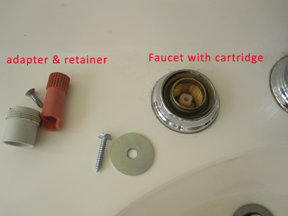 How to Remove Stuck Moen 1224 cartridge Morawski